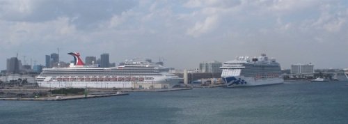 Lots of ships